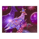 Eagle - vagabundo divino tarjeta postal
