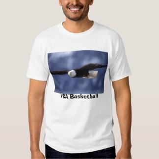 eagle, VCA Basketball T Shirt
