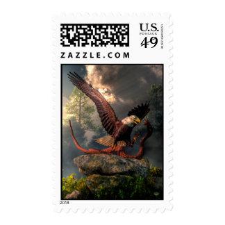 Eagle Vs Cobra Stamp