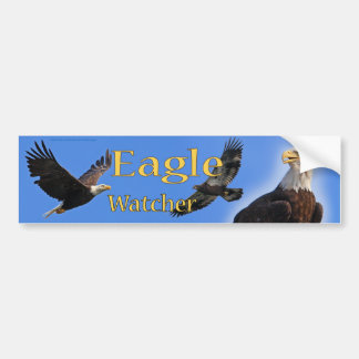 Eagle Watcher bumper sticker