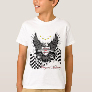 Eagle wing Motor cycle T-Shirt