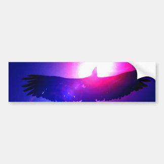 Eagle Wings - Eagle in Flight Car Bumper Sticker