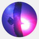 Eagle Wings - Eagle in Flight Sticker