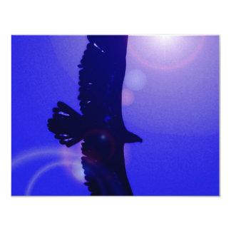 Eagle Wings 4.25x5.5 Paper Invitation Card