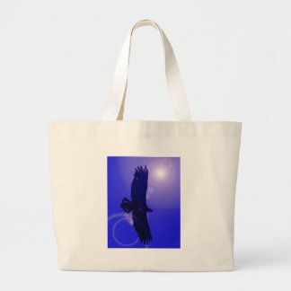 Eagle Wings Large Tote Bag