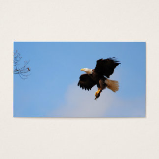 Eagle With Fish 1 Business Card