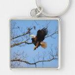Eagle With Fish 2 Keychains