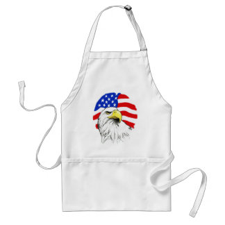 Eagle with Flag Adult Apron