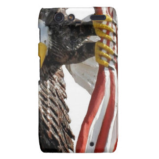 Eagle with flag droid RAZR covers