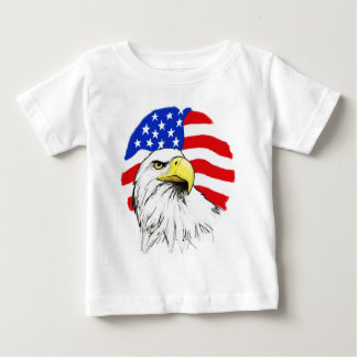 Eagle with Flag T-shirt