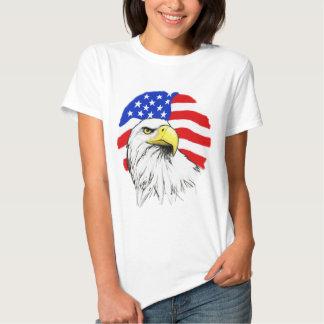 Eagle with Flag Tee Shirt