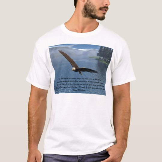 Eagle with Poem T-Shirt