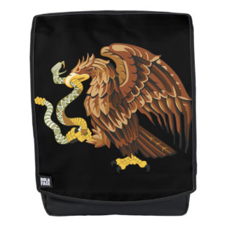 Eagle with snake backpack