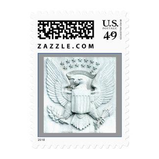 Eagle with Stars - Washington DC Postage Stamps