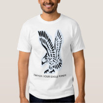 Eagle (With Summon Your Eagle Powers Text) Tee Shirt