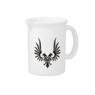 Eagle with two heads beverage pitcher