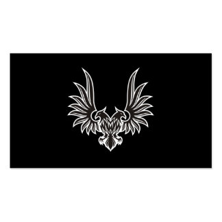 Eagle with two heads business card