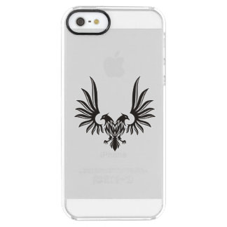 Eagle with two heads clear iPhone SE/5/5s case