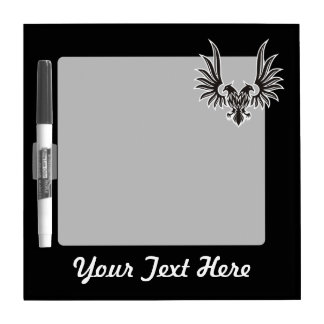 Eagle with two heads dry erase board