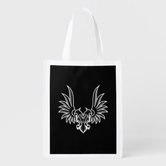 Eagle with two heads grocery bag