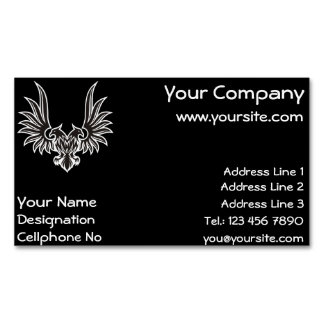 Eagle with two heads magnetic business card