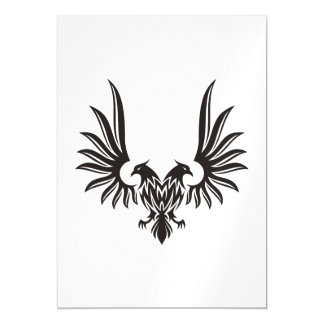 Eagle with two heads magnetic card