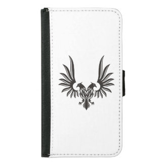 Eagle with two heads samsung galaxy s5 wallet case