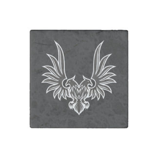 Eagle with two heads stone magnet