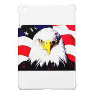 Eagle y bandera iPad mini protectores