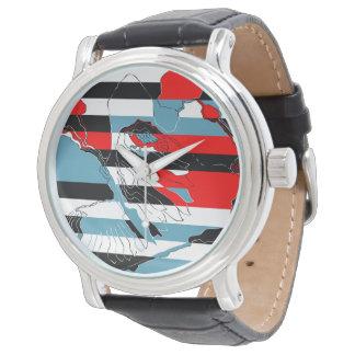 Eagle y diseño del ángel relojes de pulsera