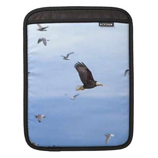 Eagle y el volar de las gaviotas funda para iPads