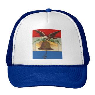 Eagle y Liberty Bell Gorra