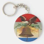 Eagle y Liberty Bell Llavero Personalizado