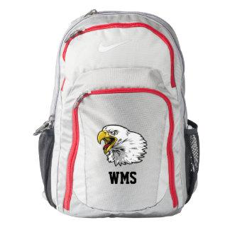 Eagle y mochila del monograma