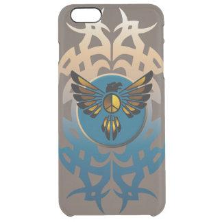 Eagle y símbolo funda clear para iPhone 6 plus
