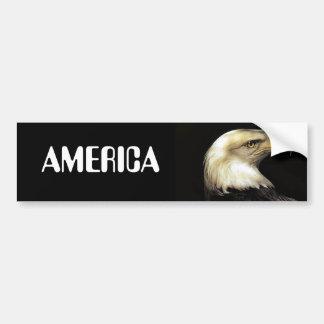 eagleAMERICA Car Bumper Sticker