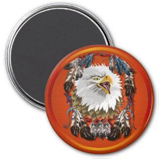 EagleDreamcatcher-Imán Imán Redondo 7 Cm