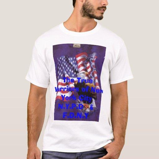 Eagleflag, The True Warriors of New York CityN.... T-Shirt