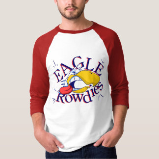 EagleRowdies Red 3/4 T-Shirt