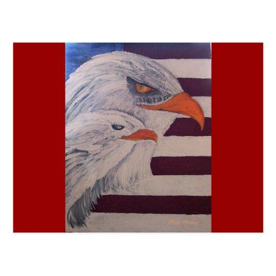 Eagles -2 postcard