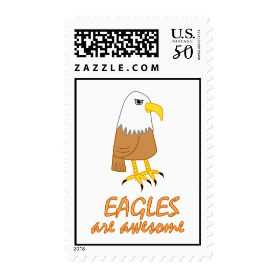 Eagles are Awesome Postage