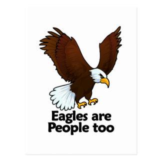 Eagles are People too Postcard