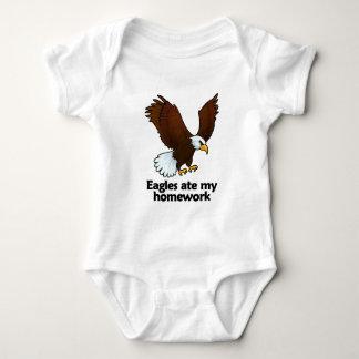 Eagles ate my homework baby bodysuit