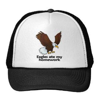 Eagles ate my homework trucker hat