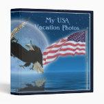 EAGLES CALVO AMERICANO y carpeta patriótica de la