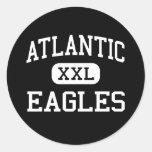 - Eagles - comunidad atlántica - Delray Beach Etiqueta Redonda