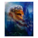 Eagle's Cry Art Poster/Print
