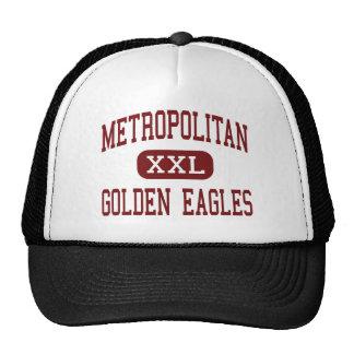 - Eagles de oro - alto metropolitano - Bronx Gorros Bordados
