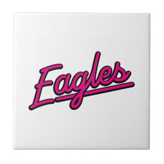Eagles en magenta azulejo
