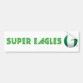 Eagles estupendo - fútbol de Nigeria Pegatina Para Auto